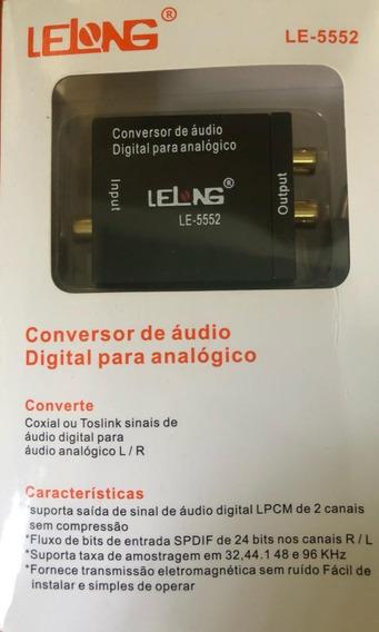 Conversor De Audio Digital Para Analogico