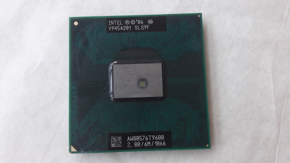 Processador Notebook Intel Core 2 Duo T9600 2.8ghz 6m Slg9f
