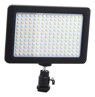 192 Led Video Light Zapato Para Iluminación Y Difusor