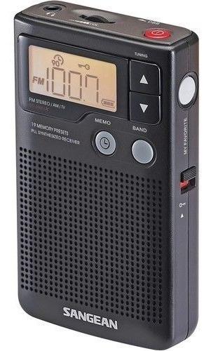 Rádio Receptor Sangean Dt-200x Am/fm Stéreo Digital Pll