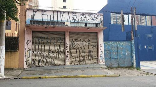 Galpão Na Melhor Rua Da Chacara Santo Antonio. - Ab128473