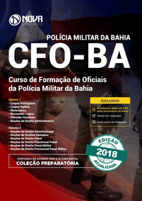 Apostila Preparatória Pm-ba 2019 - Cfo