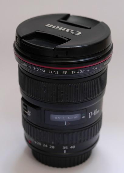Lente Canon 17-40 Ef 17-40mm L Usm