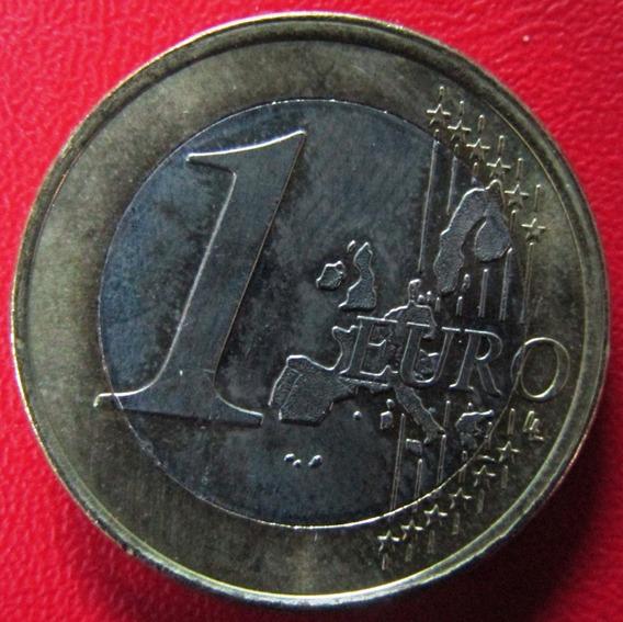 Holanda Moneda Bimetalica 1 Euro 1999 Unc Km #240