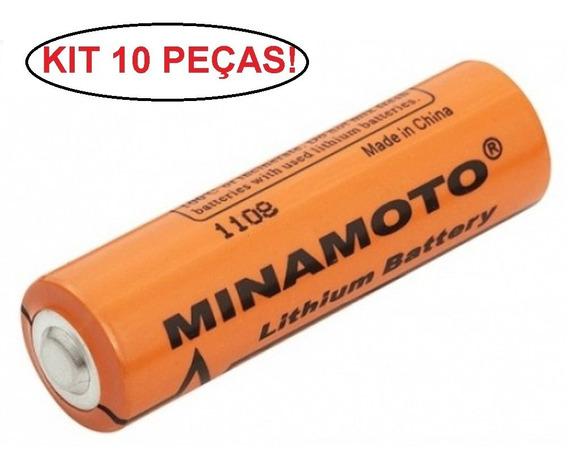 Bateria Er14505 Minamoto 3,6v Aa - Kit 10 Unidades Lithium