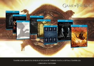 Game Of Thrones - Temporada 1-7 Blu-ray (oferta)