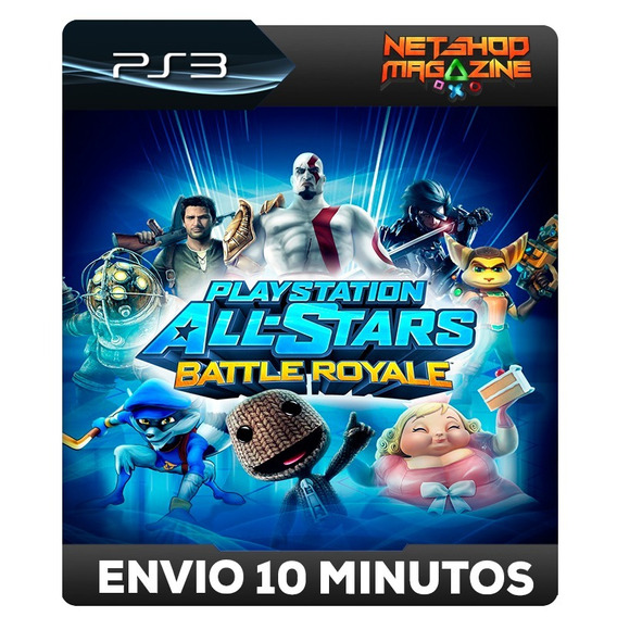 Playstation All-stars Battle Royale - Psn Ps3 - Envio Agora