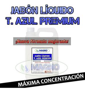 Jabón Líquido T. Azul Premium X 5 Lt, Máx. Concent. Y Perf.
