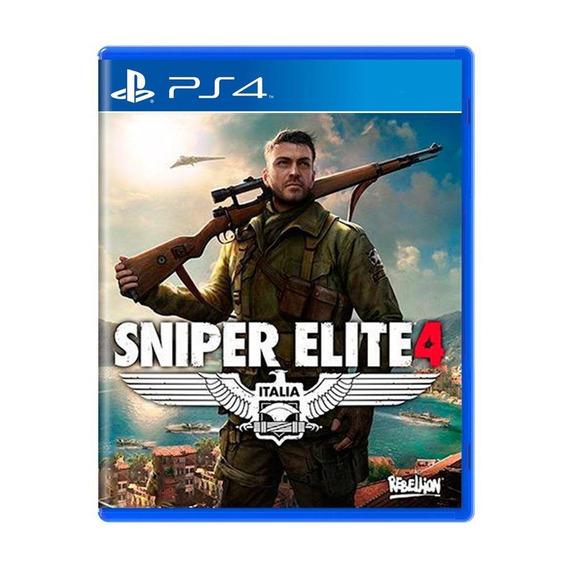 Sniper Elite 4 Ps4 Mídia Física Pronta Entrega