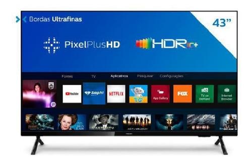 Smart Tv Philips 43 Led Fhd 43pfg6825/78 Wi-fi Usb Hdmi