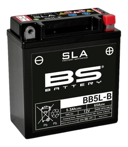 Bateria Moto Gel Bb5lb Bs Battery Gilera 12v 5ah