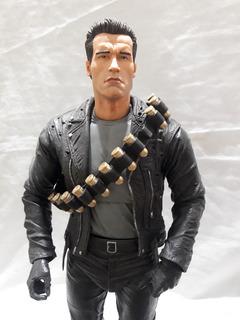 Figura Terminator Arnold Schwarzenegger Escala 1/4 Neca