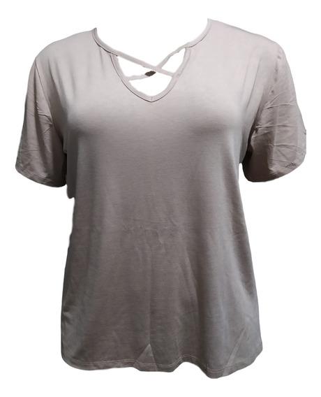 2 Blusas Plus Size Camiseta T-shirt
