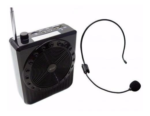 Microfone C Caixa Amplificadora P/ Professor Aula Palestra
