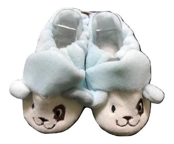 Pantufla Para Bebés Antideslizante Animalitos Oferta