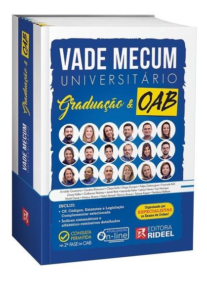 Vade Mecum Universitario Graduação E Oab - 2019