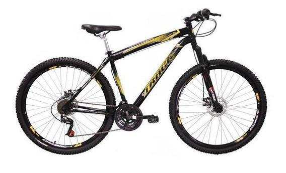 Bicicleta Track Tb Niner Aro 29, 21v Dupla Suspensão Preta