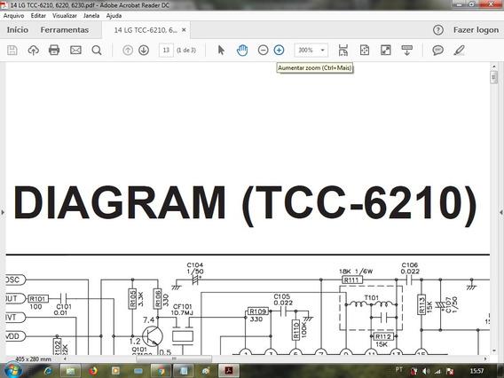 Esquema Som Lg Tcc-6210,6220,6230