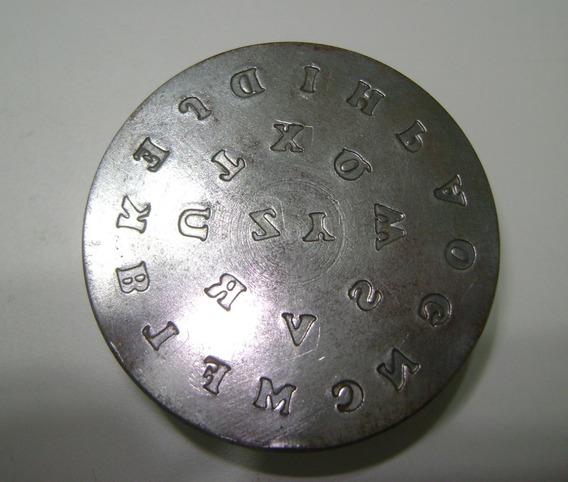 Matriz/cunho De Aço Alfabeto Completo