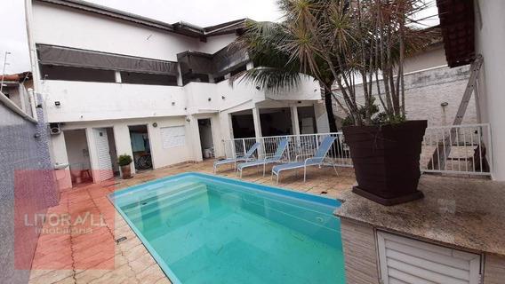 Casa Com 3 Dormitórios Para Alugar Por R$ 2.400,00/mês - Jardim Belas Artes - Itanhaém/sp - Ca1872