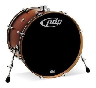 Pdp Pdcm1822kkstb Bombo De Bateria Maple Bass Drum 22 X 18