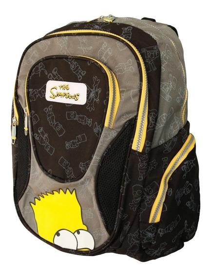 Mochila Estampada Infantil Escolar Simpsons Cordez Bart