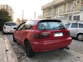 Honda Civic Hatch Vx Vtec Não Si Vti Dx Ex Exs