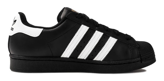 Tênis adidas Superstar Preto Black Original Promoção