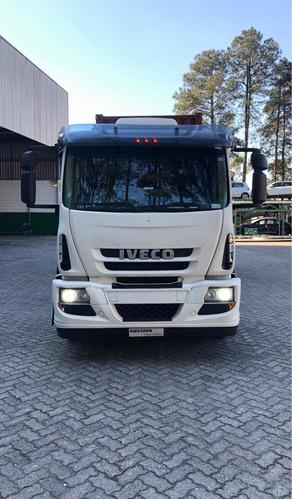 Imagem 1 de 14 de Iveco Cursor 450e 33t 10/11 Branco Gustavo-caminhões