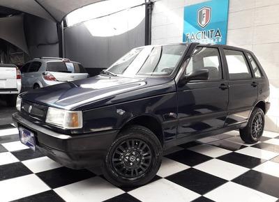Fiat Uno Mille 4 Portas Gasolina Básico