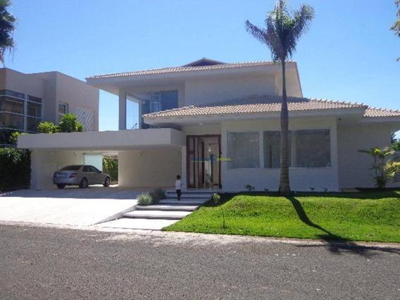 Mansão De Alto Padrão, Condomínio Green Palm, São José Do Rio Preto. - Ca0540