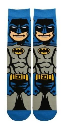 Medias Batman O Capitan America Licencia Oficial Dc Marvel