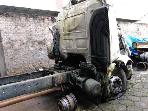 Sucata Volvo Vm 330 2013 Aut Truck Para Retirada De Peças