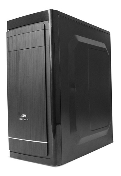 Gabinete Gamer Barato C3 Tech Mt-41bk S/ Fonte