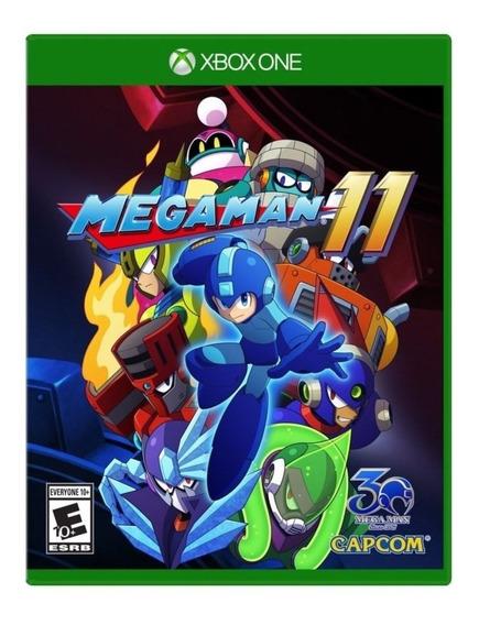 Mega Man 11 - Xbox One Mídia Física Lacrado !