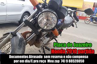 Moto 125 Honda Partida