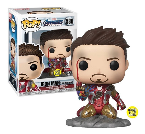 I Am Iron Man Tony Stark Avengers Endgame Funko Pop Exclusiv