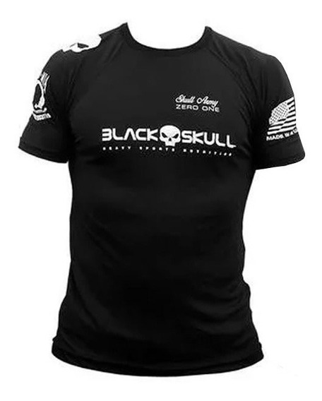 Camiseta Bope Dry Fit - Preta - Black Skull