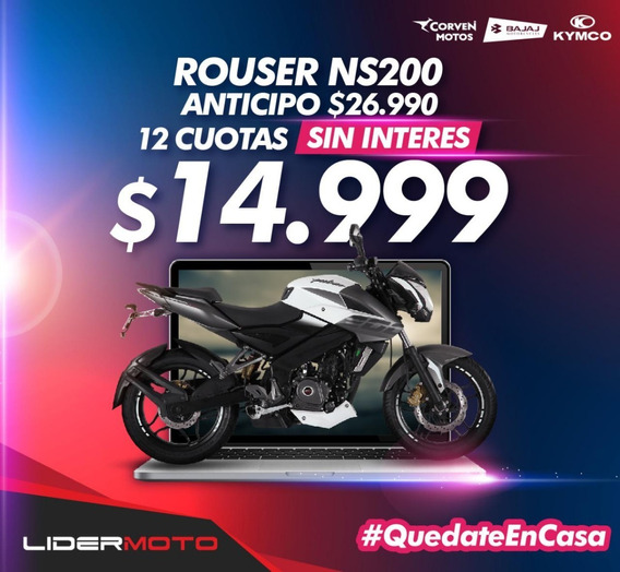 Bajaj Rouser 200 Ns - Exclusivo Amarillo