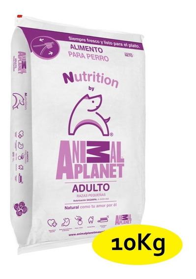 10kg Alimento Perro Adulto Croqueta Raza Chica Animal Planet