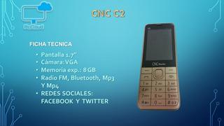 Celular Cnc Moviles C2 Movistar..un Mes De Servicio Gratis!!
