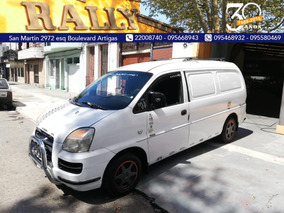 Hyundai H1 2.5 2007 Retira Con U$s 7000 Cuotas Sola Firma