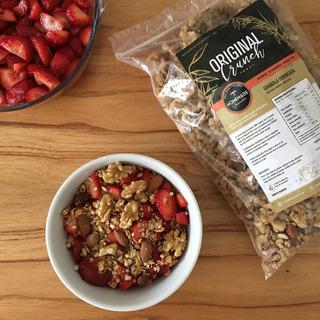 Granola Homemade Original 1kg 100% Natural C/coco Y Miel