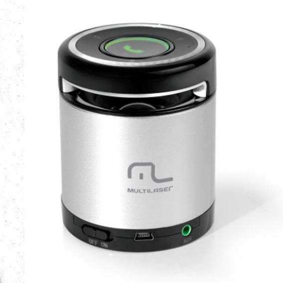 Caixa De Som Bluetooth E Atend. Telefone Multilaser Sp155