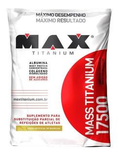 Massa Mass Titanium 17500 3kg Baunilha Max Titanium