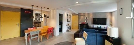 Apartamento Em Brooklin Paulista, São Paulo/sp De 93m² 1 Quartos À Venda Por R$ 720.000,00 - Ap164239