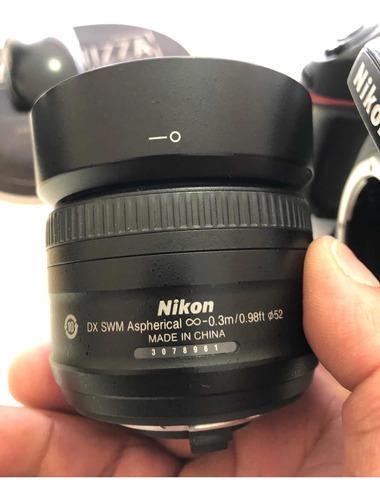 Lente Nikon 35 Mm 1.8 G
