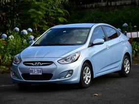 Hyundai Accent Gls 1.6 Airbag Celeste 4 Puertas