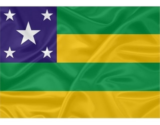 Bandeira Sergipe 100x75 Cm