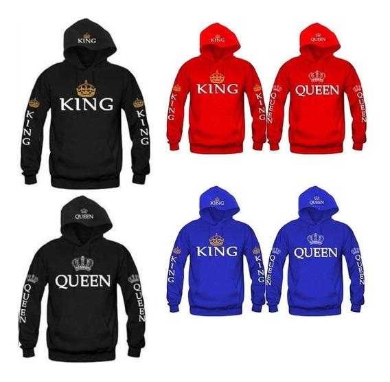 Polerones De Parejas King Y Queen Solo Enamorado
